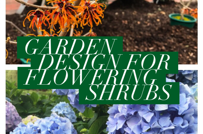 Garden Design for Flowering Shrubs